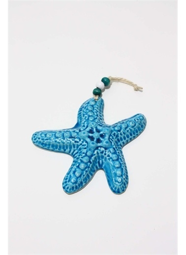 Raven Home Studio Rhs Deniz Yıldızı Figür Duvar Dekortif Ürünleri Mavi Küçük Boy Mavi